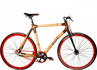 bike fixie red